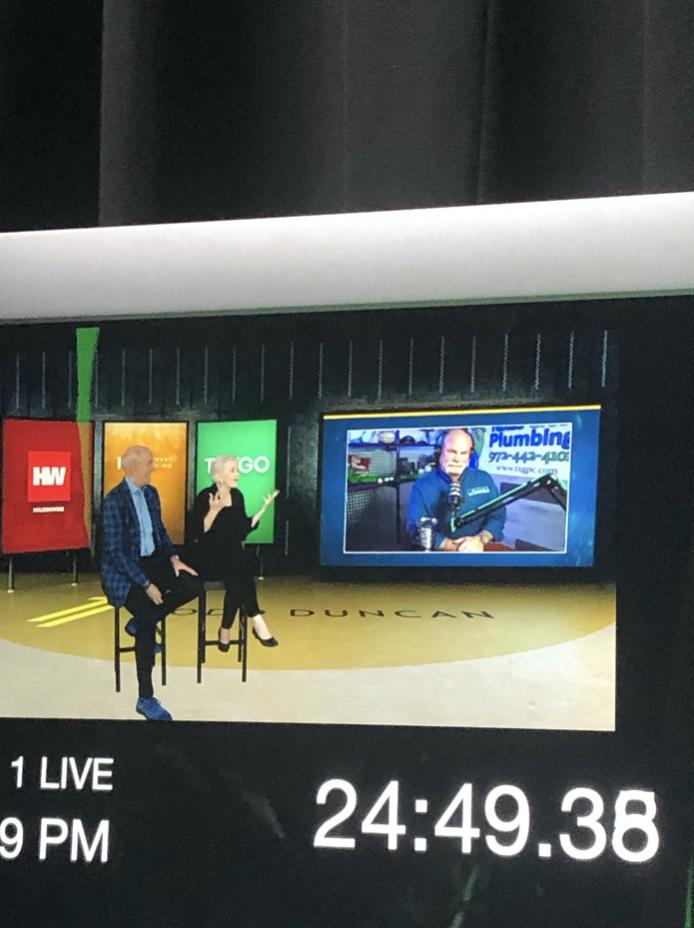 live vo announcer set