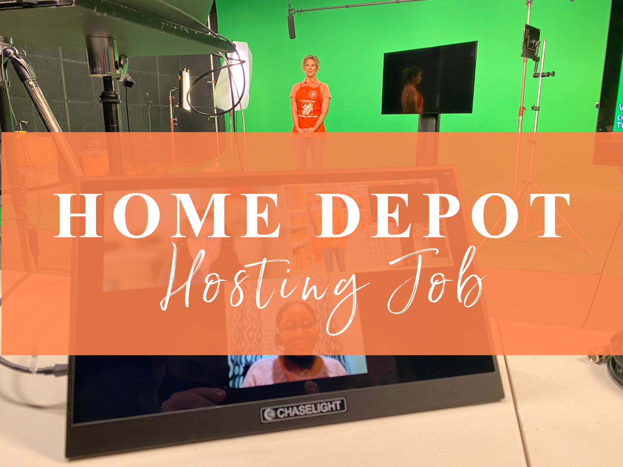 Home Depot Hosting Job